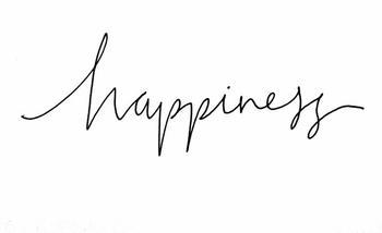 La question du bonheur .
