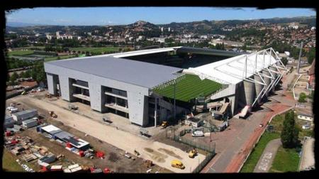 Une autre nouveauté cette saison : La rénovation du Stade Geoffroy Guichard de Saint-Etienne !