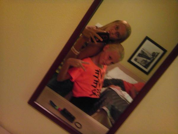 Old...... with my silly sister