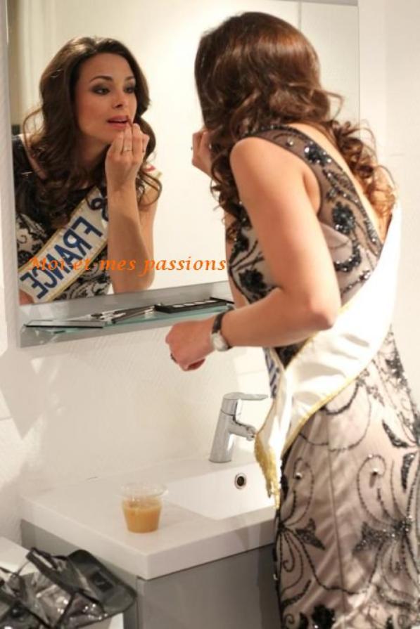 Marine Lorphelin: Pas de vacances pour Miss France!