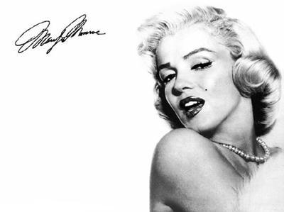 « Je ne veux pas être riche. Je veux être merveilleuse. » Marilyn Monroe