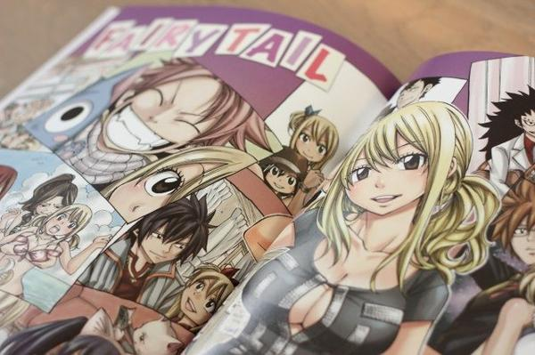 Fantasia-Fairytail Artbook