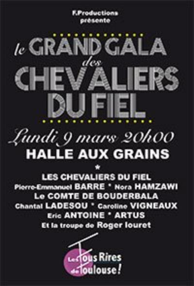Le grand gala des chevalier du fiel and guests.