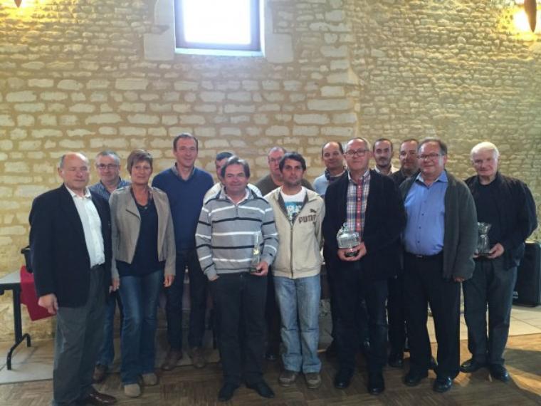 Remise de Prix Groupement du Calvados