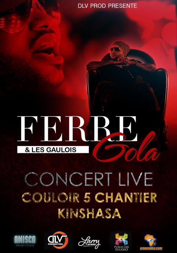 FERRE GOLA DVD LIVE COULOIRS 5 CHANTIERS