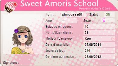 •• Jeu Amour Sucré | Article n°07 | > Only-Pimousse ©