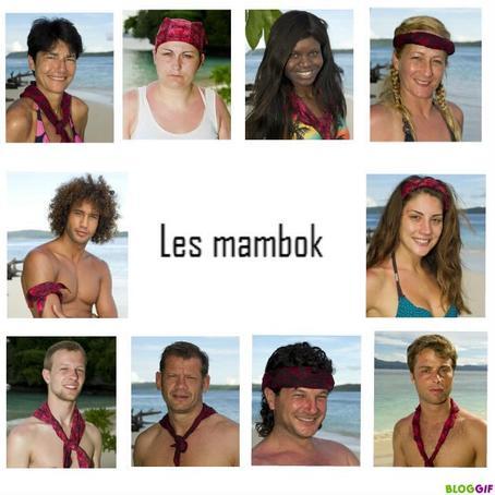 Equipe Rouge : Les Mambok.