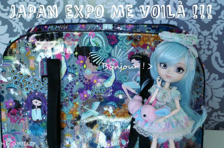 JAPAN EXPO ME VOILÀ !!!