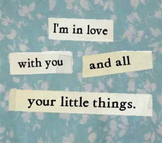 """tu l'aimes tellement qu'a chaque fois qu'il passe à côté de toi,tu le dévore des yeux,même s'il sait à peine que t'existe  ♥""""Je suis amoureuse de toi et de toutes tes petites choses """""""