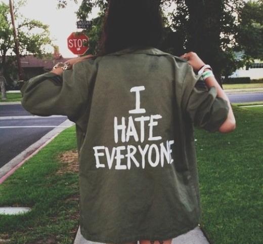 Je déteste...