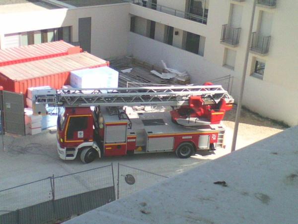 Pompiers en bas de cher moii