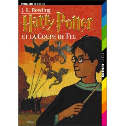 Harry Potter et la Coupe de Feu (4ème tome)