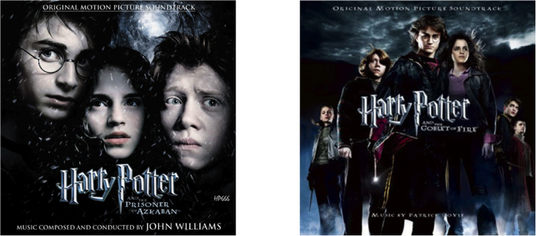 Bandes-son des films Harry Potter