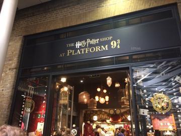 Londres pour les fans d'Harry Potter - Magasin 9 3/4