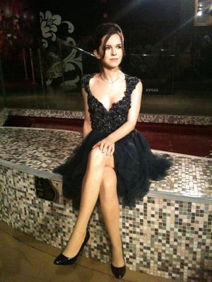 Voyage Londres: Emma Watson chez Mme Tussauds & pièces d'échec de Ron