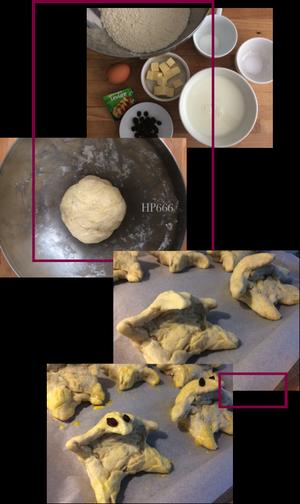 Les niffleurs en brioche - La recette