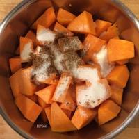 Le jus de citrouille - La recette