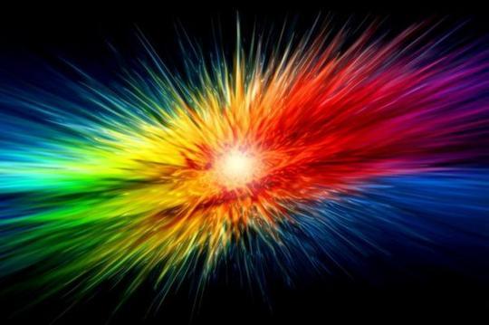 L'art est une explosion.