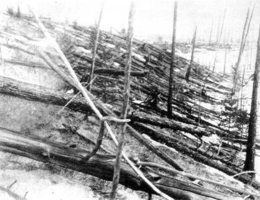 La terrible catastrophe de la Tunguska (Sibérie)
