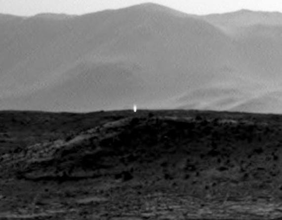 Un nouveau mystère martien fait le buzz sur la toile