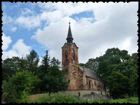 L'église Saint George de Lukova (République Thèque)