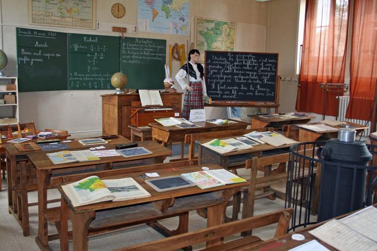 Une école autrefois