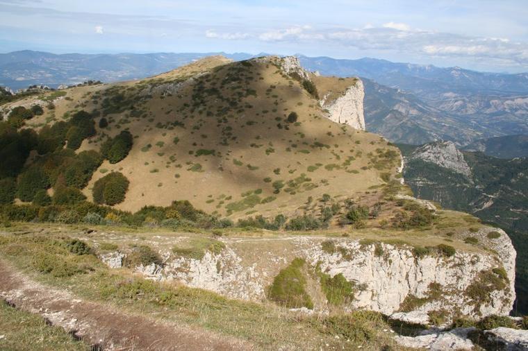 Vallée de la Drôme - Massif de Saoû - Les Trois Becs