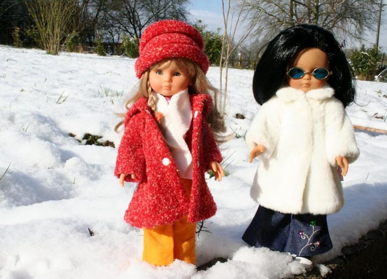 Les Chéries aux sports d'hiver