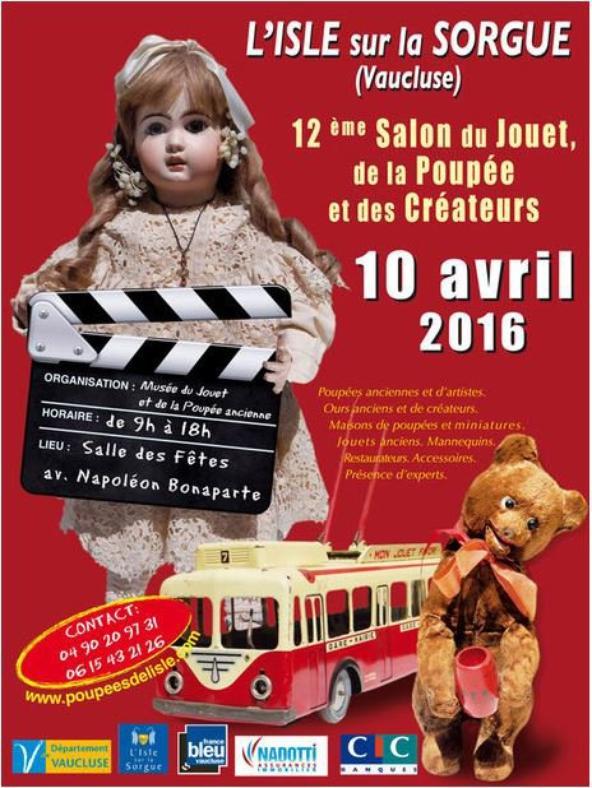 Salon du 10 Avril à L'Isle sur la Sorgue