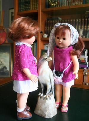 Agathe et sa nouvelle amie