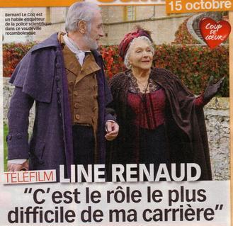 Line Renaud - Revue de presse