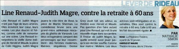 Line Renaud - FIGAROSCOPE