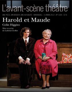 Line RENAUD - Harold et Maude, avant scène théâtre