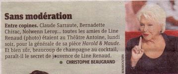 "Line RENAUD - Promo ""Harold et Maude"""