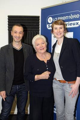 """Line Renaud - itw """"Le Grand Mag"""" du 07-01-13 sur La Première (RTBF)"""