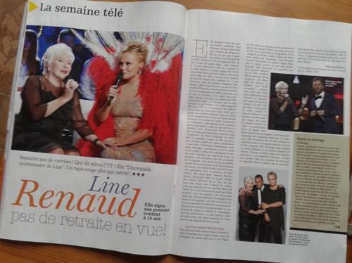 Line Renaud - L'incroyable anniversaire de Line: la presse télé en parle aussi... (suite et MAJ)