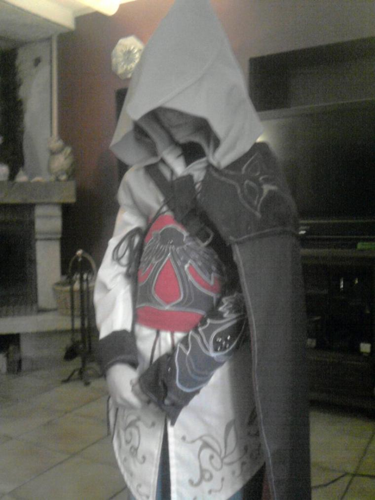 carnaval a l'école,  fallait bien un costume d'Assasin's Creed pour mon ptit Geek