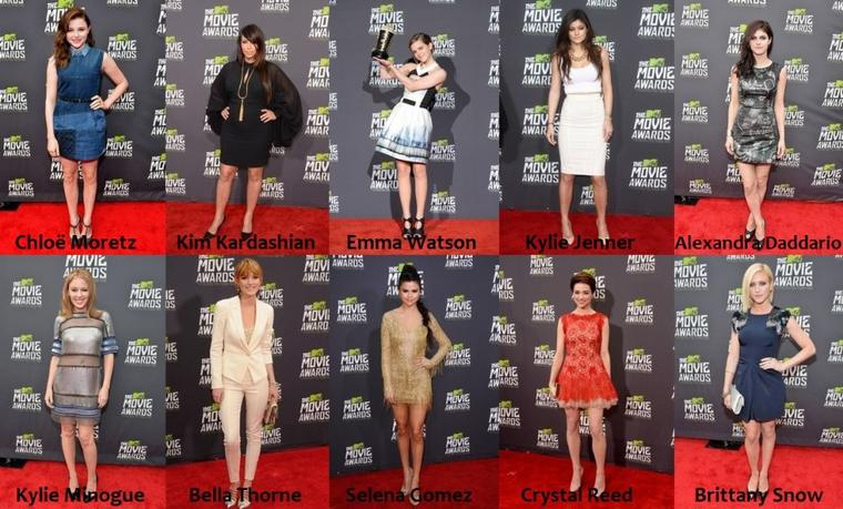 Les MTV Movie Awards 2013