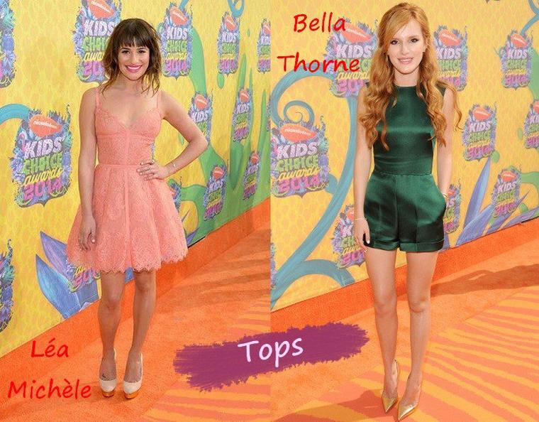 Les Tenues de Stars aux Kids Choice Awards 2014