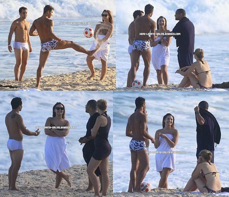 18/04/2012 Demi à la plage, au Brésil.