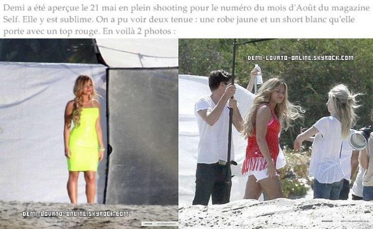 Shooting + Candid magnifique + News