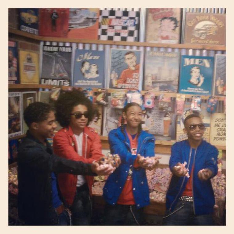 New Photos Of Mindless Behavior In BOP And Tiger Beat