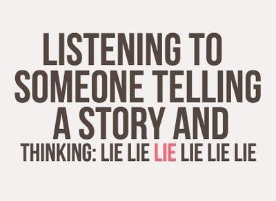 « Une demi-vérité est un mensonge complet. »