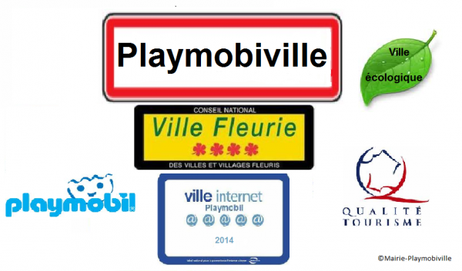 Bienvenue sur le blog officiel de la mairie de Playmobiville