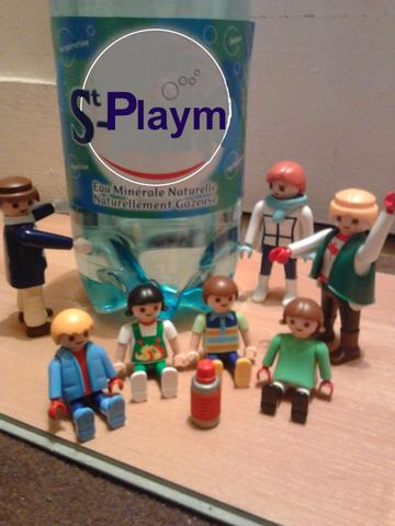 Aujourd'hui, on pose pour Playmobiville !