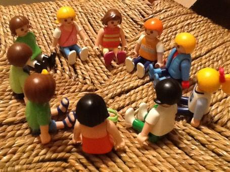 27/10/2013 : La rencontre des enfants de la ville