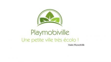 Playmobiville à un logo !