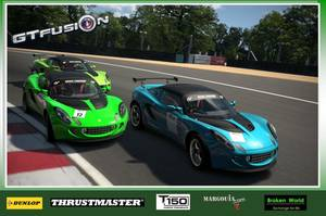 GTfusion Round 4 2016 - Gran Turismo World Championship - Training Pictures