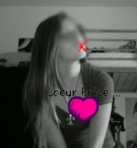 t'as joué avec mon corp et tu ma brisé le coeur..