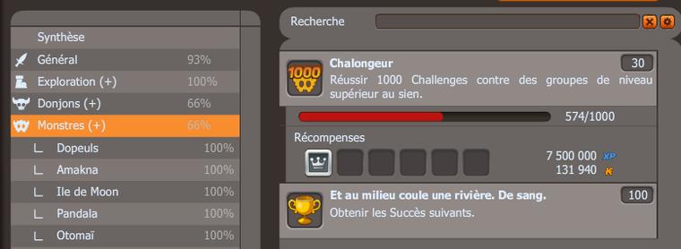 Obtention des 6000 points succès !